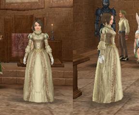 りんごちゃんのドレス姿
