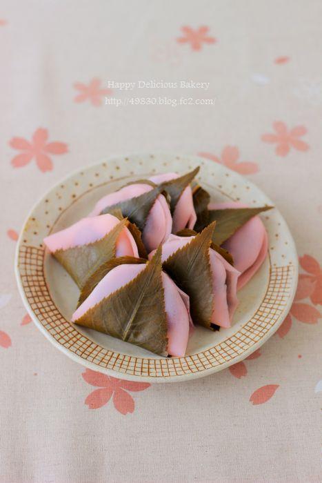 506文さんの桜餅 縦