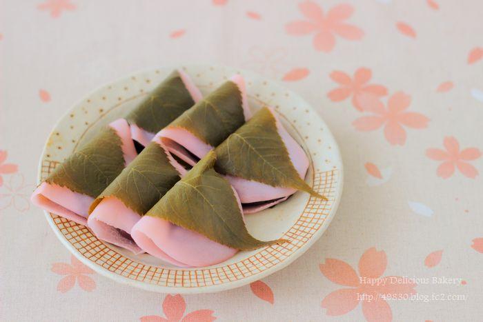 506桜餅ふみさんの桜餅 横