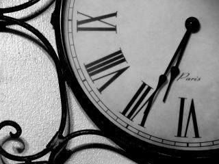 時間を管理する時計