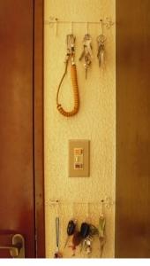 玄関の鍵全体