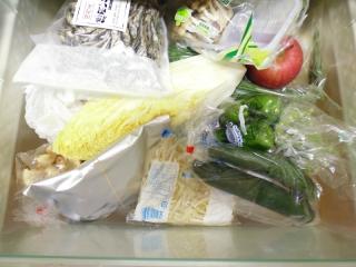 冷蔵庫整理収納野菜室