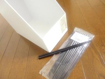 ファイルケースと箸