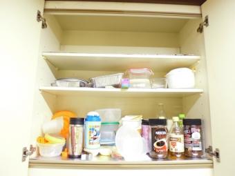 断捨離・片付け後のキッチン上棚