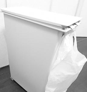 無印良品ゴミ箱、ビニール袋2