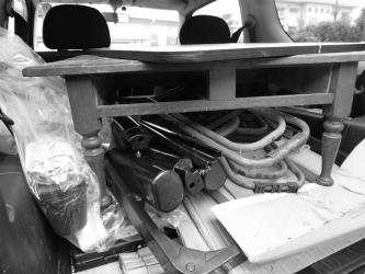 机とコタツ