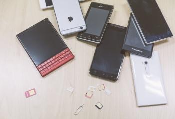 複数の携帯
