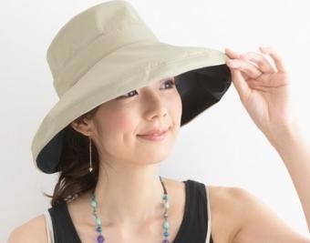 サンバリア100帽子