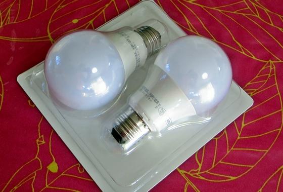 IKEA LED電球パッケージ