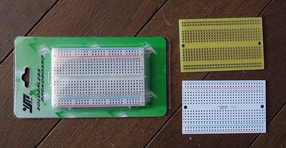 ブレッドボード配線パターン基板