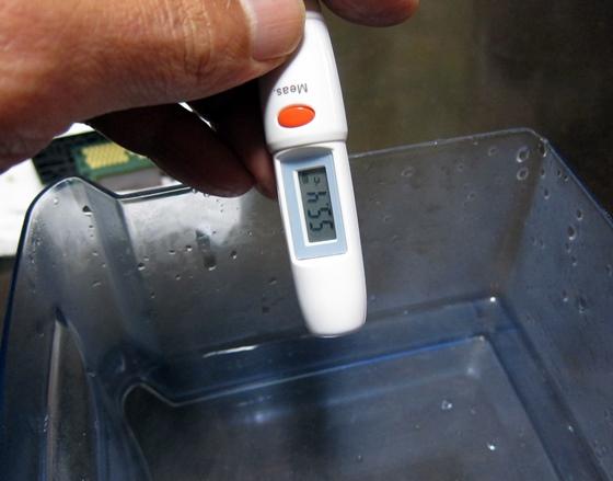 お湯温度測定