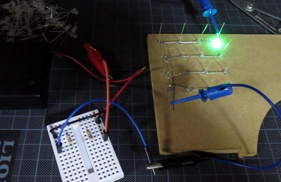 LEDテスト