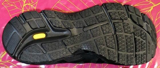 ロードジョグ新品靴底