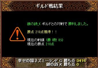 15.3.12銀の詩様 結果