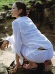 木村多江 セクシー シースルー Tバック パンティー 下着透け お尻食い込み 誘惑 色気 女優 高画質エロかわいい画像9315