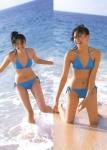 榮倉奈々 セクシー ビキニ水着 太もも 海 笑顔 ポニーテール おっぱいの谷間は無い 高画質エロかわいい画像9342