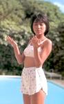 羽田美智子 セクシー ハイレグ水着 80年代アイドル 太もも ムチムチ 日焼け 高画質エロかわいい画像9348