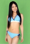 AKB48 田野優花 セクシー ビキニ水着 おっぱいの谷間 おへそ 太もも エロかわいい画像9404