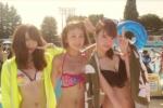 AKB48 永尾まりや 菊地あやか 近野莉菜 セクシー ビキニ水着 おっぱいの谷間 エロかわいい画像9405