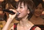 元AKB48 篠田麻里子 セクシー マイク 握り 顔アップ 汗 ショートヘア キャプチャー 高画質エロかわいい画像9412