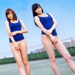 NMB48 渡辺美優紀 吉田朱里 セクシー ハイレグ 太もも カメラ目線 誘惑 高画質エロかわいい画像9453