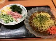宮下公園 日高屋 渋谷宮下公園前店 黒酢しょうゆ冷し麺(2015/5/16)