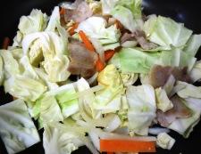 麺つゆカレーラーメン 調理①