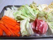 麺つゆカレーラーメン 【下準備】②
