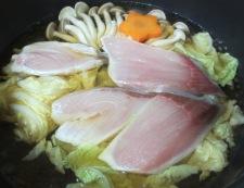ブリのおろし煮 調理②