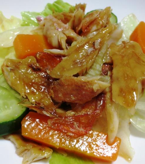 干物とレタスのサラダ B