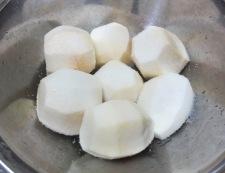 里芋(小芋)の炊いたん 調理①