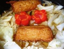 白菜とウィンナー巻きの炊いたん 調理②