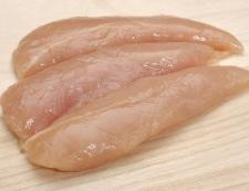 鶏ささみの胡椒炒め 材料①