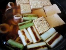 ヤリイカと焼き豆腐の煮物 調理④