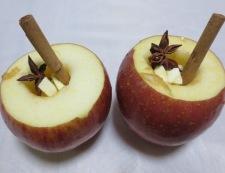 焼きりんご 調理①