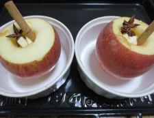 焼きりんご 調理②