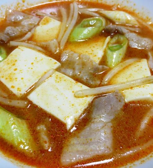キムチチゲスープ B