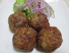 豚こま切れ肉の唐揚げネギソース 調理⑤