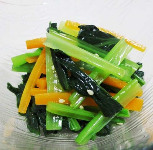 小松菜のおひたし B
