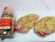 チキンカツ ガーリックマスタード風味 調理②