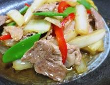 白菜と豚こまの生姜焼き 調理⑥