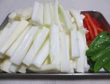 白菜と豚こまの生姜焼き 【下準備】②