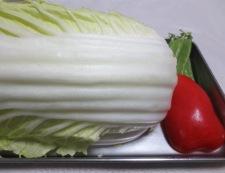 白菜と豚こまの生姜焼き 材料②