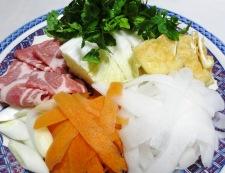 粕汁鍋 調理②
