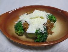 ブロッコリーのカレーチーズ焼き 調理②