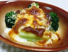 ブロッコリーのカレーチーズ焼き 調理④
