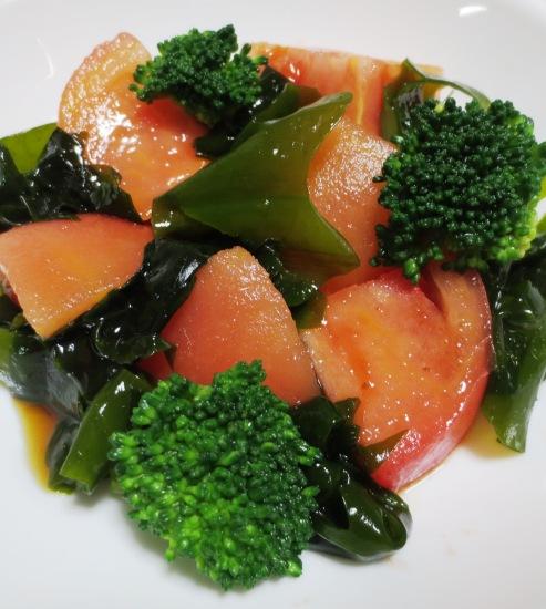 トマトとわかめのサラダ B