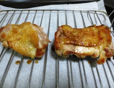 鶏もも肉の山椒焼き 調理③