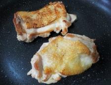 鶏もも肉の山椒焼き 調理①