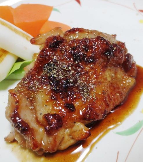鶏もも肉の山椒焼き B
